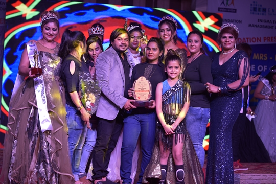 JK FOUNDATION'S & ENIGMA EVENT MANAGEMENT CO IN ASSOCIATION WITH BIGGI FILMS AND ENTERTAINMENT HAS SUCCESSFULLY COMPLETED GRAND BEAUTY PAGEANT MISS MRS KIDS JK PRIDE OF CHHATTISGARH