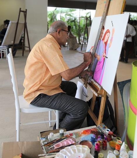 Czech Republic Consul General Rashmi Jolly-Gautam Patole's Live Art Fest Marks Newer Beginnings Amidst Social Distancing