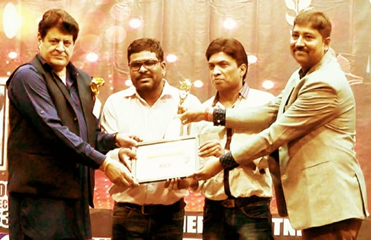 BB News Editor Brajesh Mehar Honoured With  Bollywood Legend Award