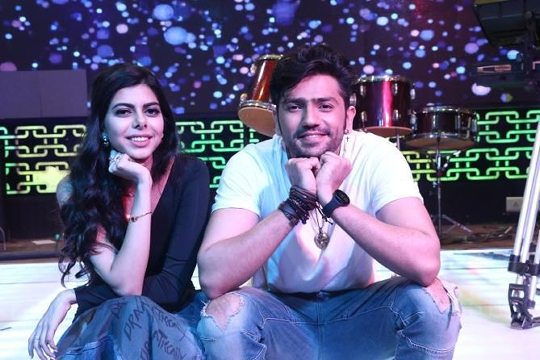 *Music Launch of Dr. Reena Mehta's Music Video 'Bechainiyan' * featuring Romil Choudhary with Aishani Mehta.