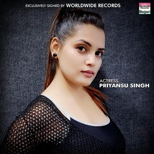 Worldwide Records Signs Actress Priyansu Singh