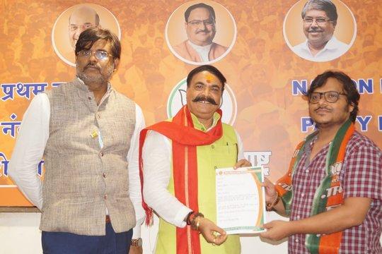 Award winning director Jai Prakash Mishra becomes President of Shri Bhartiya Janta TV And Cine Kamgar Sangh Mumbai