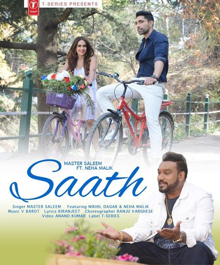 Master Saleem's new song 'Saath' to release on July 20, Neha Malik and Nikhil Dagar's sizzling chemistry is unmissable