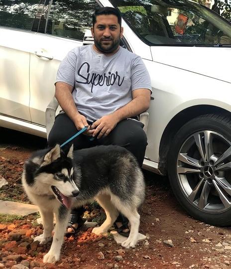 MR HAJI SAIF SHAIKH  VICE PRESIDENT OF MAHARASHTRA NAVNIRMAN SENA (MNS) Says We Treat Pets As Our Family Member So Rest Your Pet In Peace
