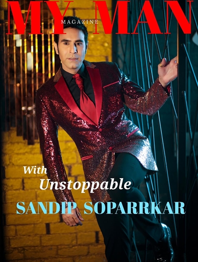 Sandip Soparrkar On The Cover Of My Man Magazine