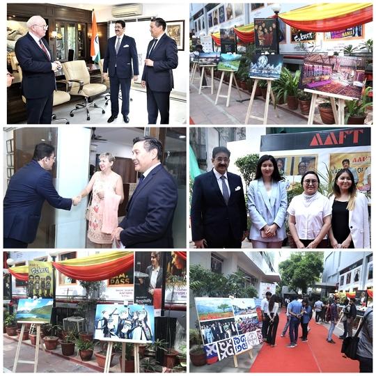 Inauguration Of Festival Of Films From Kyrgyzstan Designed by Embassy of Kyrgyzstan In New Delhi In Association With ICMEI  At Marwah Studios